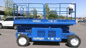 Upright Lx 31 Large Platform Scissor Lift 38 Reach