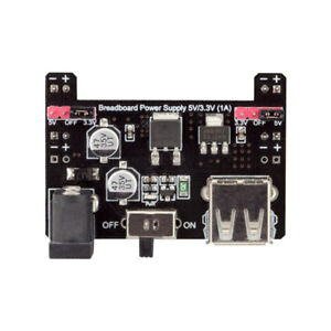 10pcs Robotdyn Breadboard Power Supply 5v 3 3v 1a Module Board For Arduino Diy