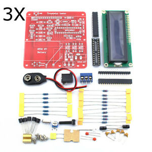 3pcs Original Hiland Diy Multifunction Transistor Tester Kit For Lcr Esr Pwm