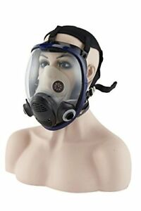 Organic Vapor Full Face Respirator With Visor Protection For Paint Chemicals P