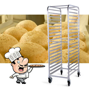 Commercial Kitchen 20 Sheet Bun Pan Bakeware Bread Pizza Bakery Rack