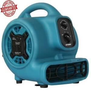 Air Mover Fan 12 8 inch 3 speed Powerful Energy Efficient 1 5 Hp Induction Motor