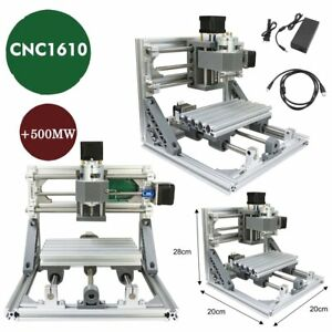 500mw Laser Head 3 Axis Router Mini Wood Carving Machine Cnc1610 Pcb Milling Vp