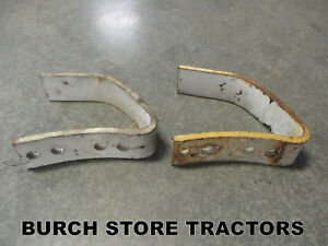 Pair Of Push Blade Guides Shoes For Farmall Cub Tractors 651244r1