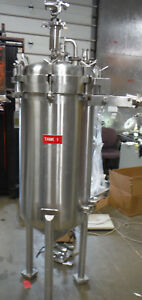 185 Liter 50 Gallon Sanitary Stainless Steel Pharmaceutical Reactor Tank