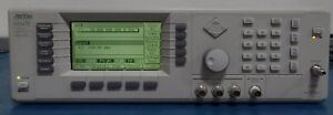 Anritsu 69347b 2a 6 11 19 Low Phase Noise Sweeper signal Generator 10mh 20ghz