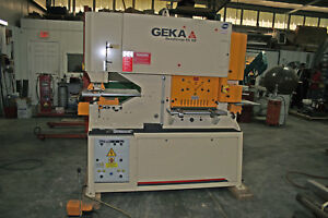 New Never Used Geka Bendicrop 85 Sd Iron Worker