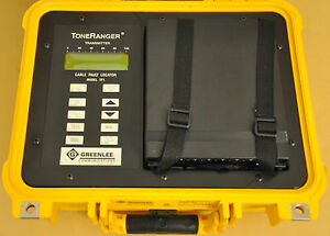 Greenlee Toneranger Model Tf1 With Aerial Buried Pair Id Cable Fault Locator