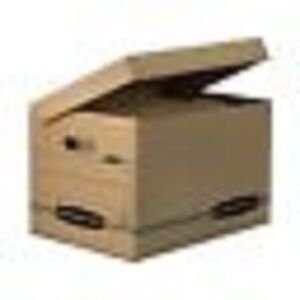Bankers Box 12772 Stor file Storage Box Letter legal Attached Lid 1 Lot 12pcs