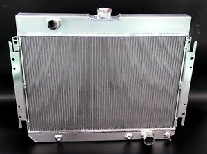 All Aluminum Radiator Fit 1963 1968 Chevy Impala Chevy Biscayne El 3