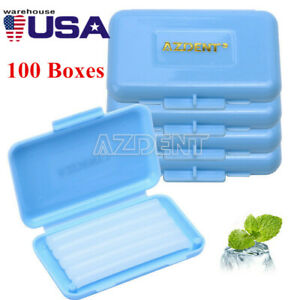 100x Azdent Dental Orthodontics Wax For Relief Braces Gum Irritation Mint Flavor