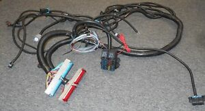 Ls 1 Or Ls 6 Stand Alone Red Blue Motor 4l60e Trans Fused Wire Harness