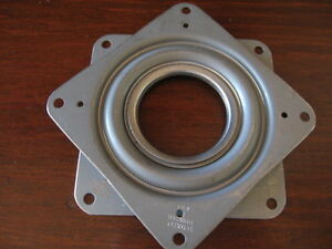 Square 3 Inch Lazy Susan Turntable Bearing made In The Usa 200 Lb Capacity