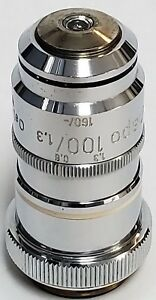 Carl Zeiss Planapo 100x 1 3 Oel 160mm Microscope Objective Plan Apo