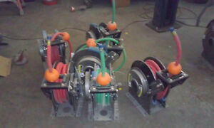 Retractable Hannay 3 4 Hose Reels With High Pressure Hoses