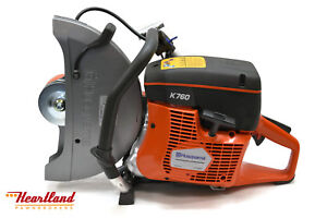 Husqvarna 14 K760 Power Cutter Concrete Saw Gas Powered
