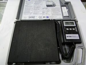 Tif 9010a Slimline Electronic Scale Charging Scale Used