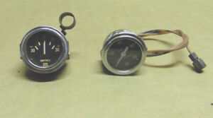 Stewart Warner Oil Pressure And Amp Gauges 50 s 60 s