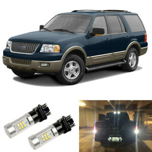 2000lm White 3156 3157 Led Reverse Backup Light Bulbs For 03 06 Ford Expedition
