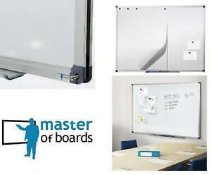 Master Of Boards White Dry Erase Board Magnet Magnetic Message Memo New Free S