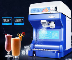 Ce Commercial Electric Ice Crusher Ice Shaver Snow Cone Machine Ice Maker 220v T