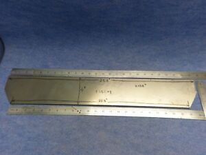 Titanium Plate Sheet Ti 6al 4v Grade 5 Thickness 0 198 Inches