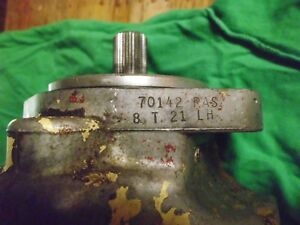Used Hydraulic Pump Core Or Parts Tandem Front Hydraulic Pump L325