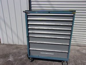 Lista Tool Cabinet Chest 8 Drawer