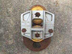Unified Industries 2500 Lb Beam Trolley Ball Bearing Industrial
