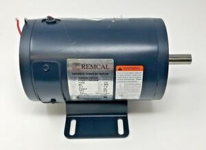 Remcal C42d17nk25a Variable Speed 1 4 H p Dc Motor New Out Of Box Free Shipping