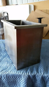 Stainless Steel Drop in Ice Bin Larger Size