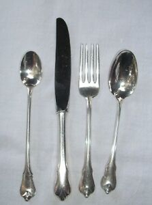 Wallace Sterling Silver Grand Colonia Youth Set Infant Baby Spoon