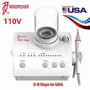Woodpecker Dental Ultrasonic Piezo Scaler Uds e Led 110v Fda Ce Compatible Ems