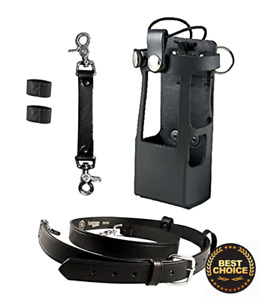 Boston Leather Bundle Three Items Anti sway Strap Radio Strap Firefighter