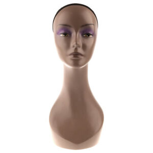 Female Mannequin Head Wigs Hat Necklace Display Stand Holder For Salon Shop