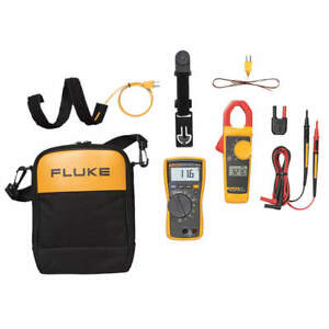 Fluke 116 323 Digital Multimeter Clamp On Kit Test Instrument