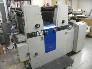 Ryobi 512 2 color Commercial Offset Printing Press Machine