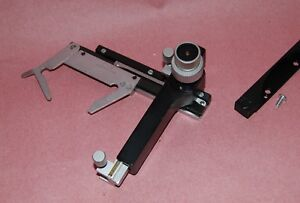 Leitz Ortholux Microscope Attachable Graduated Mechanical Stage Very Nice