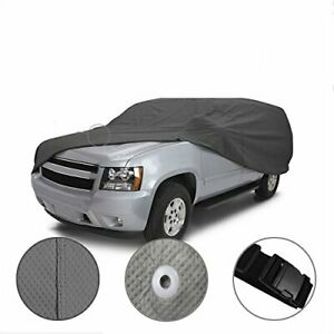 cct 5 Layer Weather waterproof Full Car Cover For Hummer H1 H2 H3 1992 2010