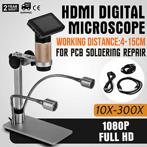 Adsm201 Digital Microscope For Pcb Soldering Repair 30fps 5v Dc Lcd3 0 Excellent