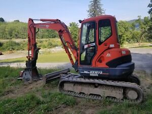 2007 Kubota Kx161 3 Ss W 2 Buckets Floating Angle Blade And Cutter Head
