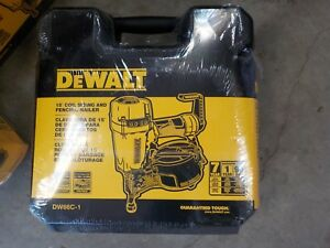 Dewalt Dw66c 1 Pneumatic 15 degree Coil 1 1 4 In To 2 1 2 In Siding Nailer