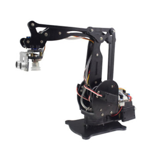 Industrial Arduino Air Pump Robot Arm With Ultrasonic Sensor Digital Servo Kit