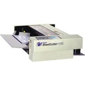 Duplo V 580 Cut Sheet Cutter great For Cutting Slitting Or Perforating