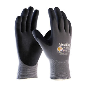 Pip 34 874 Maxiflex Ultimate Nitrile Micro foam Coated Gloves Large 12 Pair
