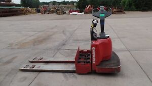 Raymond 5000 Lb Electric Pallet Jack 8400 No Battery 5 Foot Forks 2009