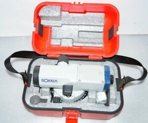 Sokkia B40a Automatic Level 24x Magnification With Case