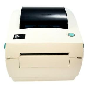 Zebra Thermal Label Printer Lp 2844 With Pwr Supply Usb Labels