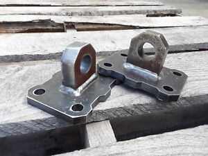 Bolt On Shackle Recovery Tab Clevis D ring Mount Tow Point