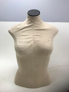 Fusion Specialties Mannequin Dress Form Female Torso Upper Body Bust Fast Ship